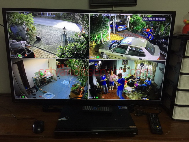 อัพfacebook ส่งLineได้เลย ด้วยมือถือ ลูกค้าเข้าที่ร้านดูตัวอย่างกล้องที่จะติดประกัน3ปี บริการตลอดอายุการใช้งาน กล้องHDCVI 2.0Mp 4ตัว เลือกเครื่องบันทึกแบบ8ช่อง Watashi Hdcvi 1080p full Hd เป็นแบบใส่กล้องIp camera 4ตัว รวมใส่กล้องทั้งหมดได้ 12ตัวคุ้มมากๆๆ